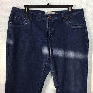 Plus Size Boot Cut Jeans size 22W